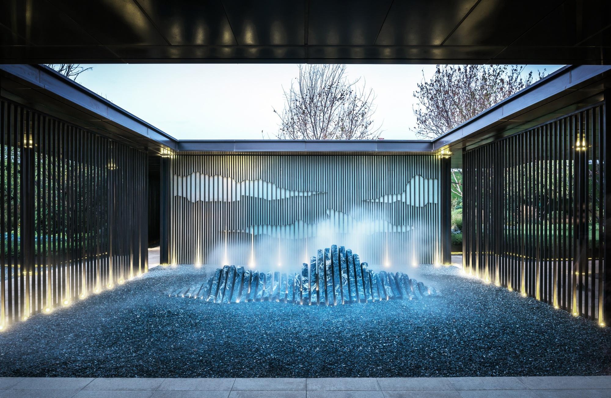 Vanke Park Mansion True Love  FLOscape Landscape Design