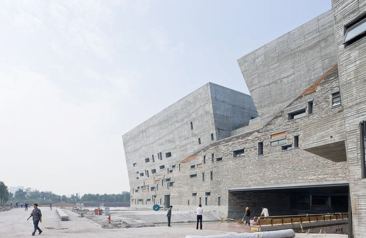 Ningbo Historic Museum / Amateur Architecture Studio. Image © Iwan Baan