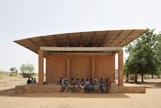 Primary School in Gando. Image © Erik Jan Owerkerk