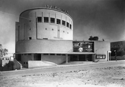 May Cinema, 5 Hassan Shukri Street, Haifa, Architect Yehuda Lilienfeld. Image © Itzhak Kalter