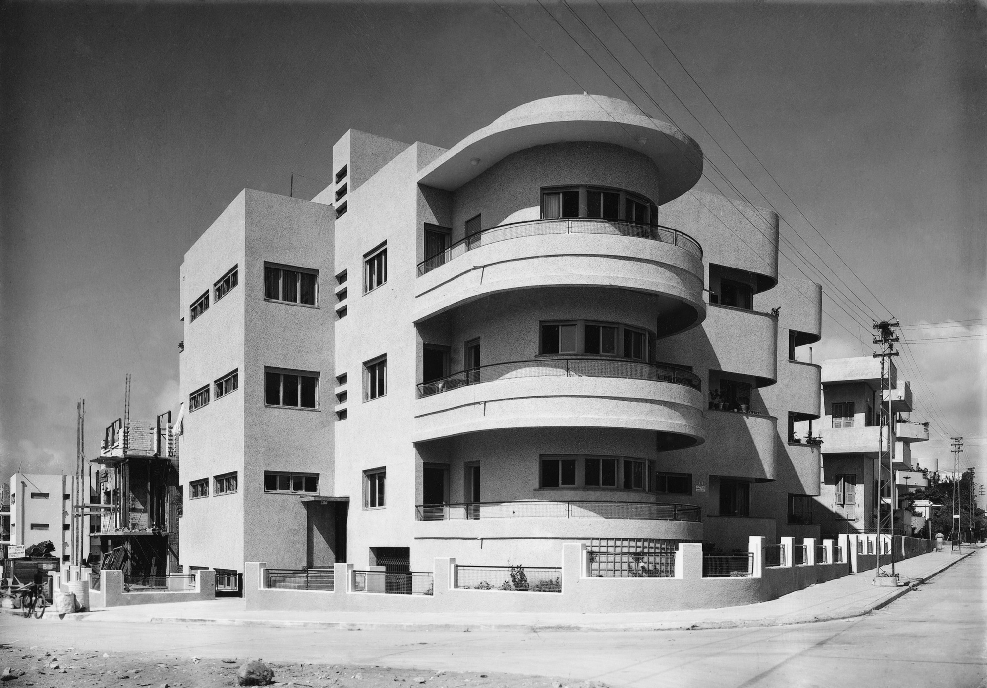Social Construction Modern Architecture In British Mandate Palestine Archdaily