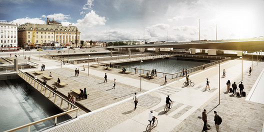 Slusstorget. Image by White Arkitekter. Image Courtesy of City of Stockholm
