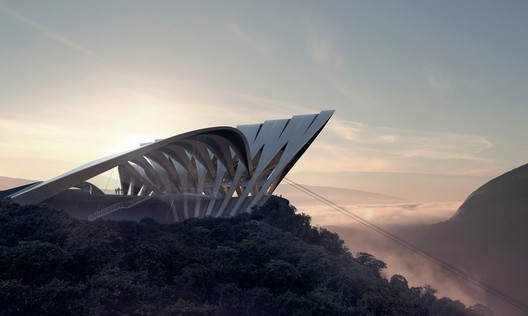 Bolzano Cable Car, Bolzano, Italy. Image © www.mir.no. Courtesy of Zaha Hadid Architects