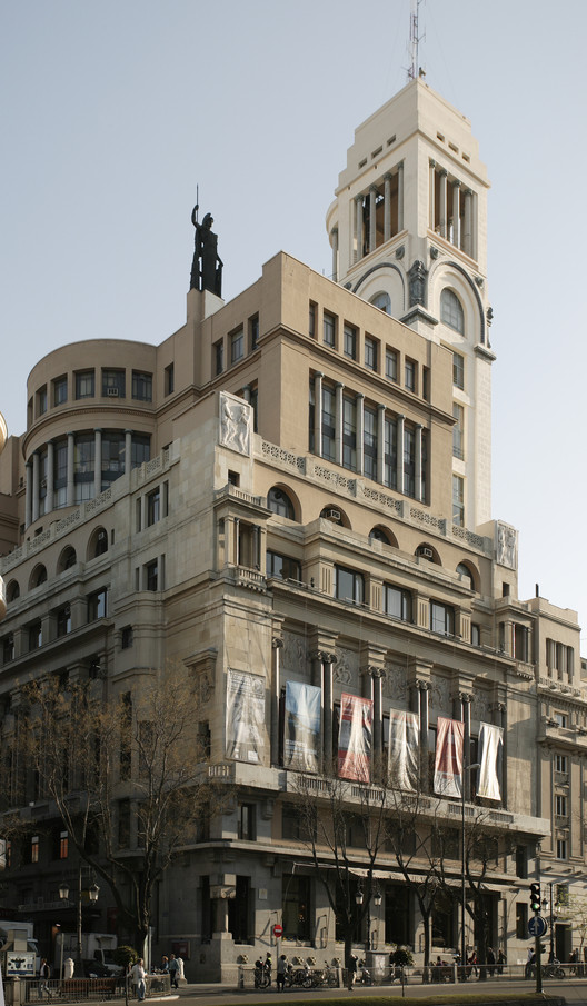 Círculo de Bellas Artes / ntonio Palacios Ramilo + Joaquín Otamendi Machimbarrena. Image Cortesía de XIV Semana de la Arquitectura
