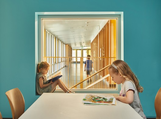 Northwood Elementary School; Mercer Island, Washington / Mahlum Architects. Image © Benjamin Benschneider
