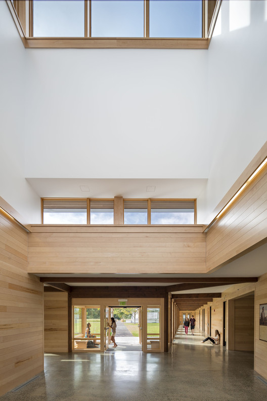 Kohler Environmental Center, Choate Rosemary Hall; Wallingford, Connecticut / Robert A.M. Stern Architects, LLP. Image © Peter Aaron / OTTO