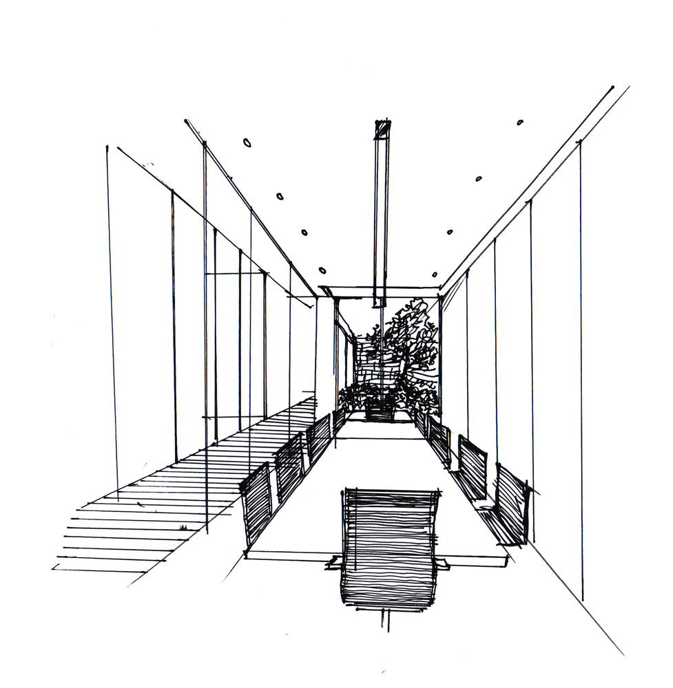 hight resolution of dplus intertrade head office pure architect meeting room sketch