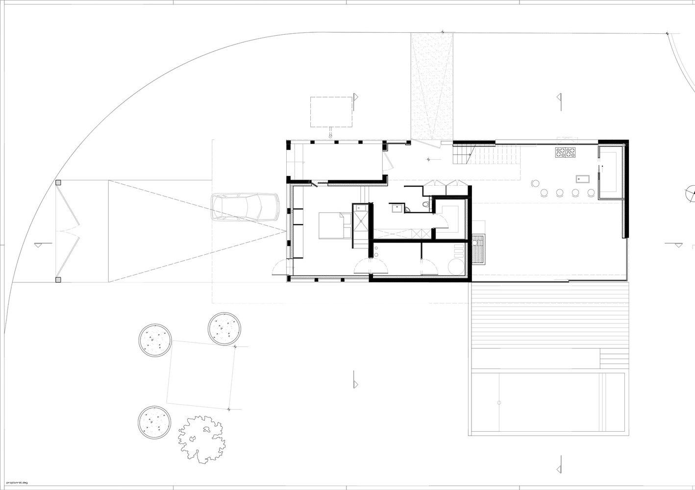 chipster blister house ground floor plan [ 1418 x 1000 Pixel ]