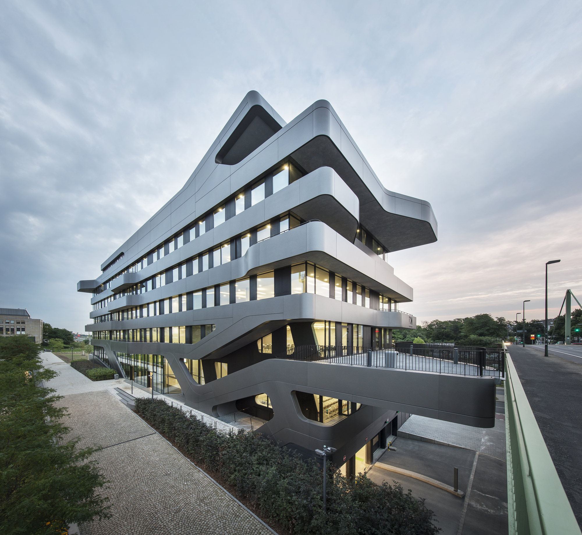 Fom Hochschule Building In Sseldorf . Mayer