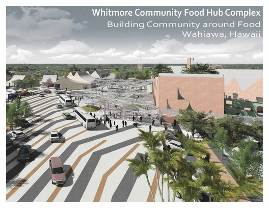 Ethics Prize winner - Whitmore Community Food Hub Complex: Building Community around Food / University of Arkansas Community Design Center. Image Courtesy of World Architecture Festival