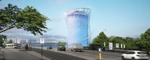 Building Technology Prize winner - Energie- ud Zukunftsspeicher im Energiepark Heidelberg / LAVA . Image Courtesy of World Architecture Festival