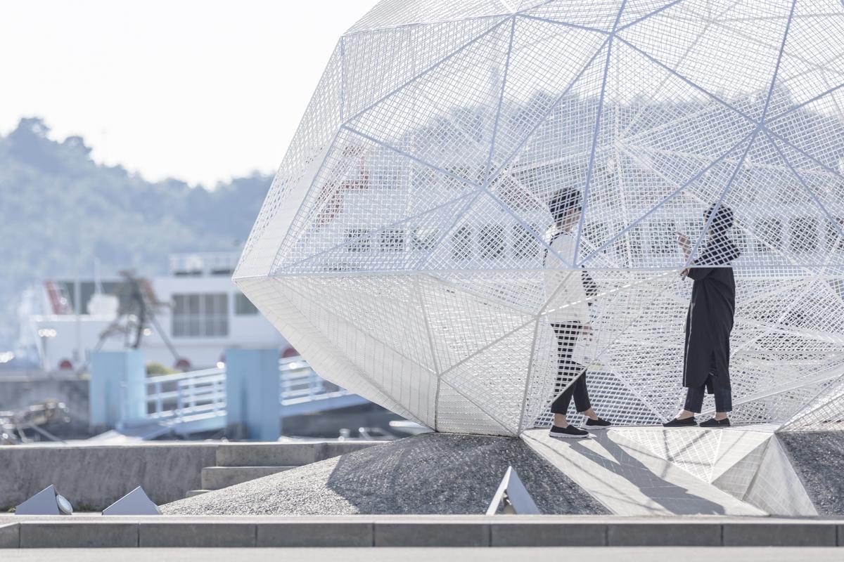 Sou Fujimotos Naoshima Pavilion Photographed by Laurian