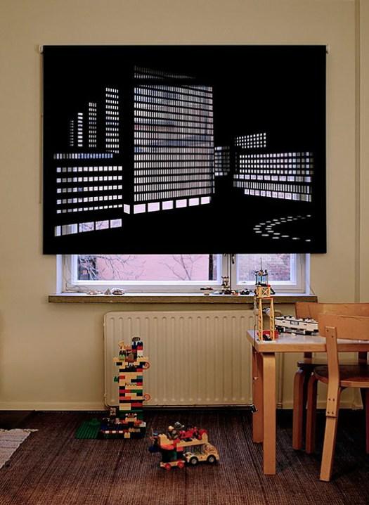 Curtain Source: Elina Aalto. Image via https://www.demilked.com/shadow-art-blackout-blinds/