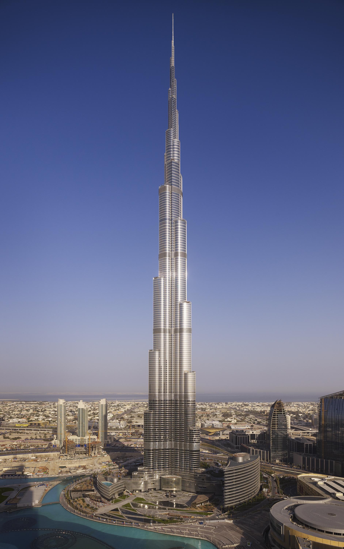 Burj Khalifa Som Archdaily