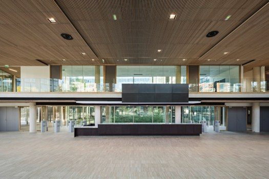 Main Hall. Image Courtesy of Dietmar Feichtinger Architectes