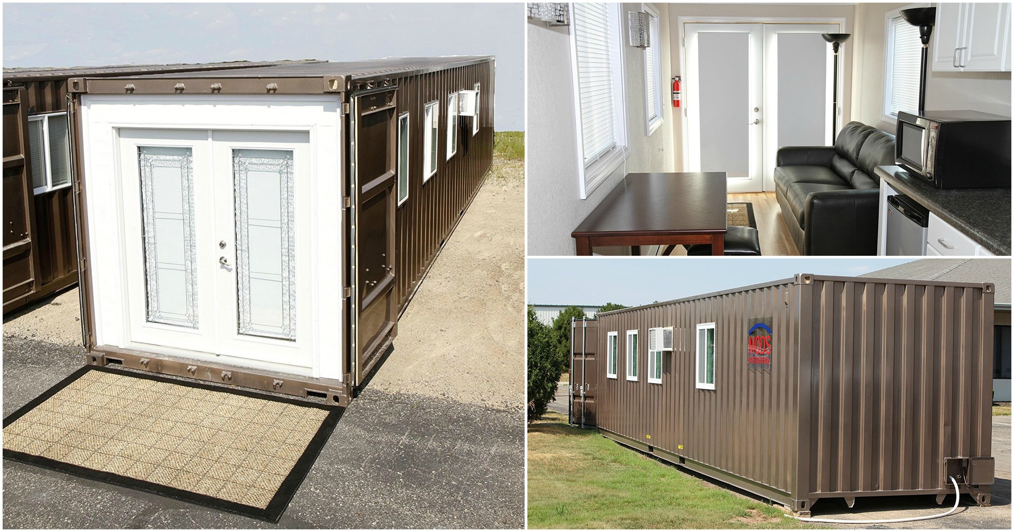 Shipping-container Tiny House
