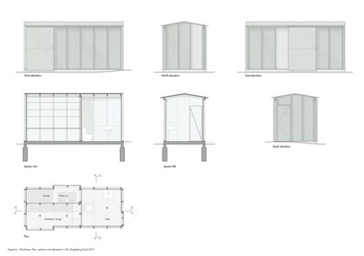 Workshop - Sections and Elevations