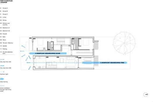 First floor plan / Diagram