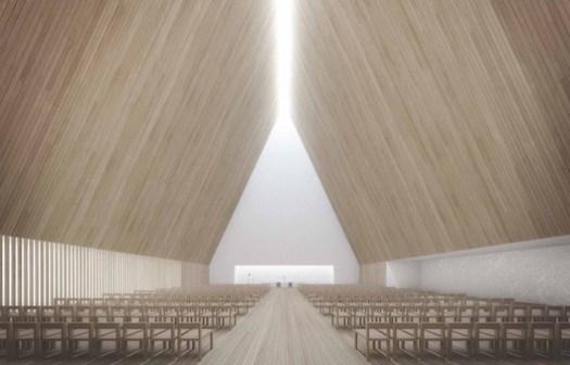 "Winner - ""Trinitas"" / K2S Architects. Image © K2S Architects"