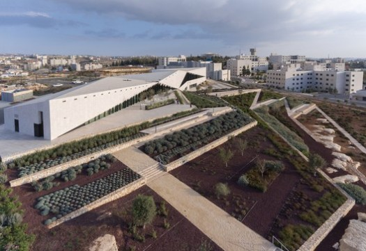 Heneghan Peng Architects, The Palestinian Museum, Birzeit, Palestine. Image Courtesy of World Architecture Festival