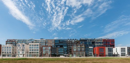 Marc Koehler Architects, Superlofts Houthaven. Image Courtesy of World Architecture Festival