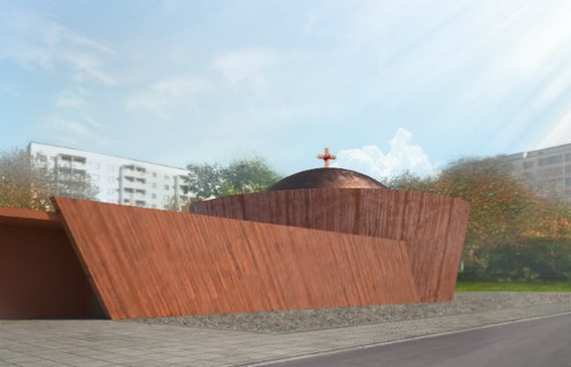 Belatchew Arkitekter, Ethiopian Church, Stockholm, Sweden. Image Courtesy of World Architecture Festival