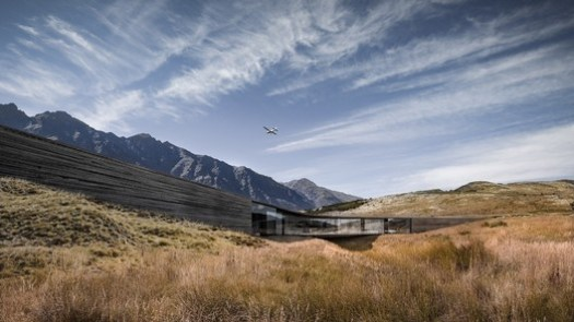 Future, House  Winner: Queenstown House; Queenstown, New Zealand / Monk Mackenzie Architects. Image Courtesy of World Architecture Festival