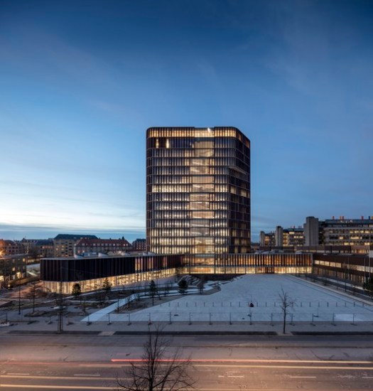 Higher Education and Research Winner: Maersk Tower; Copenhagen, Denmark / CF Møller Architects. Image Courtesy of World Architecture Festival