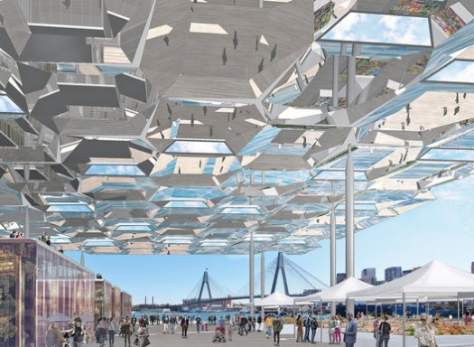 Sydney Fish Markets; Sydney, Australia / Allen Jack + Cottier Architects   . Image Courtesy of World Architecture Festival