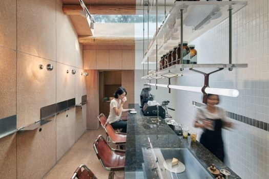 Bars & Restaurants Winner: Big Small Coffee and Guestroom; Beijing, China / Office AIO. Image Courtesy of World Architecture Festival