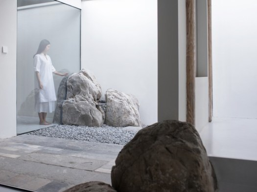 Interaction between the rocks and our living space. Image © Haiting Sun