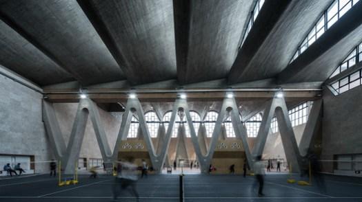 Gym Roof. Image © Qianxi Zhang