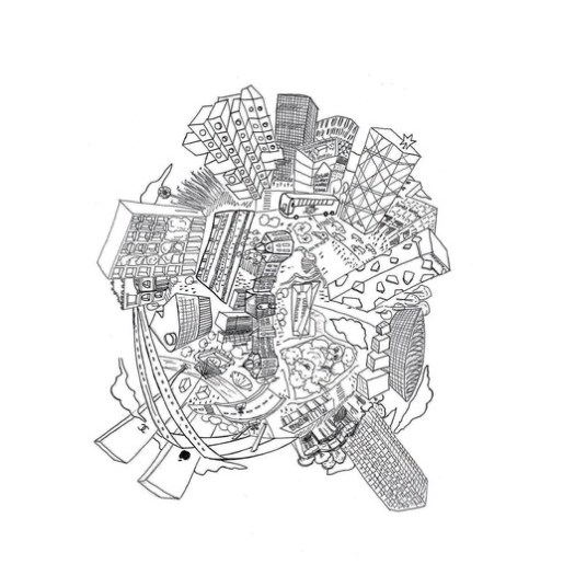 "A close-up of ""The One Day Unit"". Image Courtesy of Arkitektskolan Aarhus"