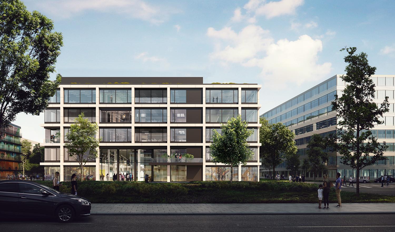 Kaan Architecten Design Facades Munich' Icampus