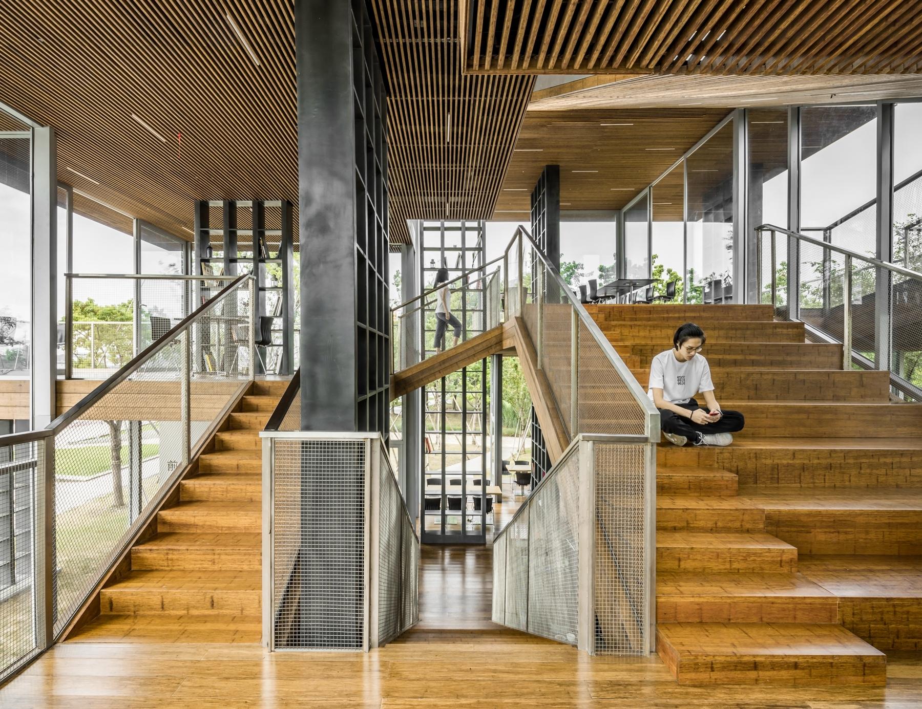 Lattice Book House Scenic Architecture Office Archdaily