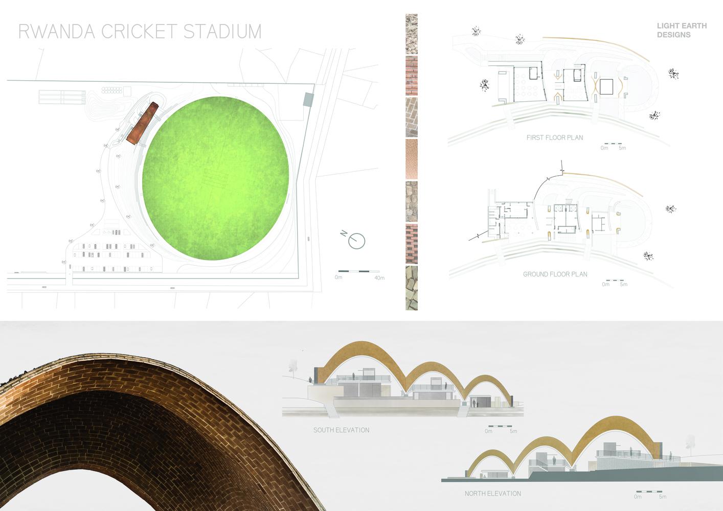 hight resolution of rwanda cricket stadium light earth designs