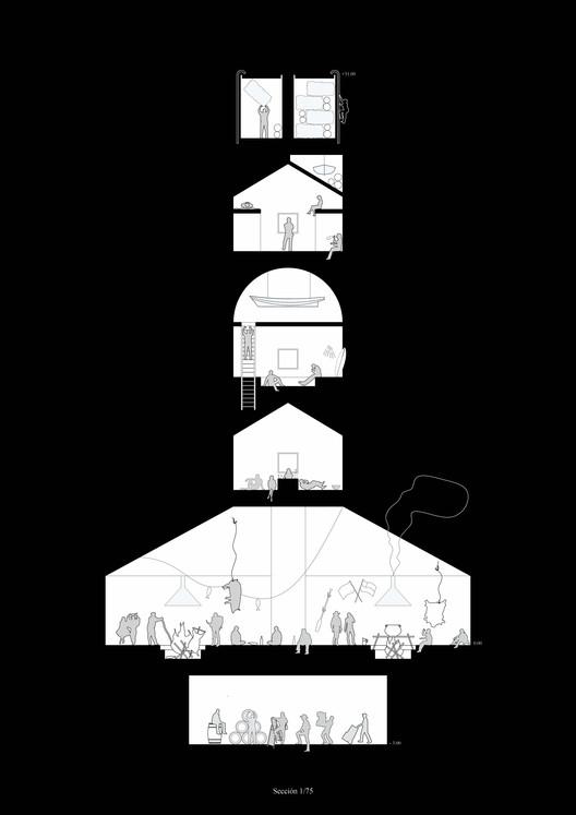 [E10] Universidad San Sebastián – Sede Santiago. Image Courtesy of Facultad de Arquitectura USS