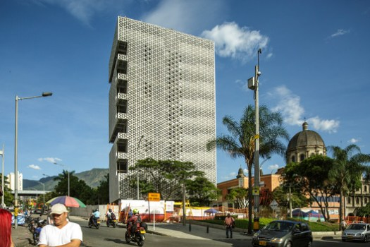 Building of the Urban Development Company (EDU) in Medellin. Image © Alejandro Arango