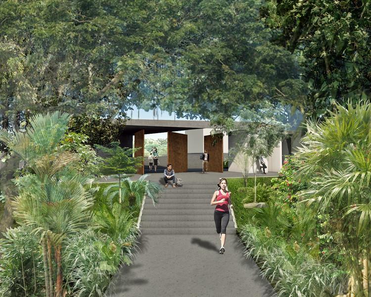 Parque La Flora. Image Cortesía de Taller de Arquitectura de Bucaramanga