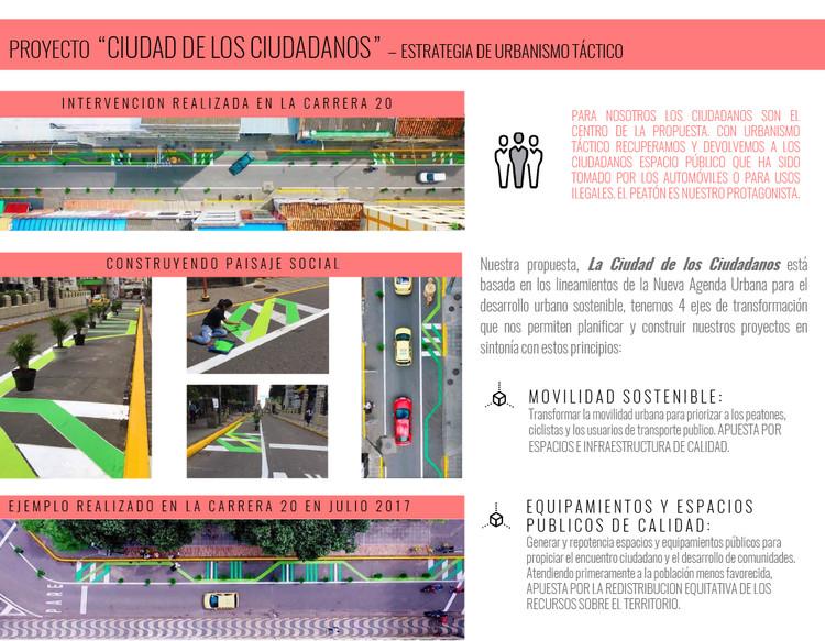 Espacio público, la piel de la democracia / Lámina 04. Image Cortesía de Taller de Arquitectura de Bucaramanga