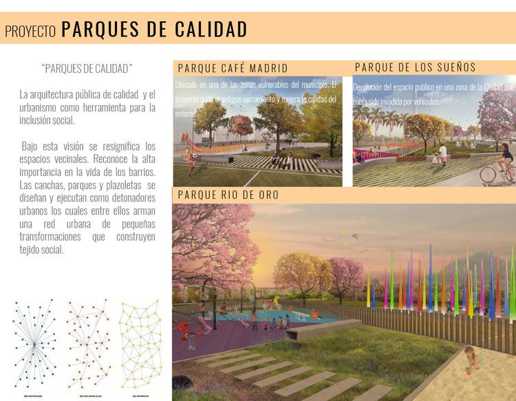 Espacio público, la piel de la democracia / Lámina 07. Image Cortesía de Taller de Arquitectura de Bucaramanga