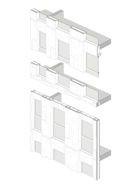 DeVerkenner_Mei_facade_element De Verkenner Tower / Mei architects and planners Architecture
