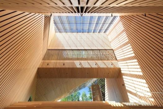 Audain Art Museum (Whistler, British Columbia) / Patkau Architects. Image Courtesy of Wood Design & Building Awards