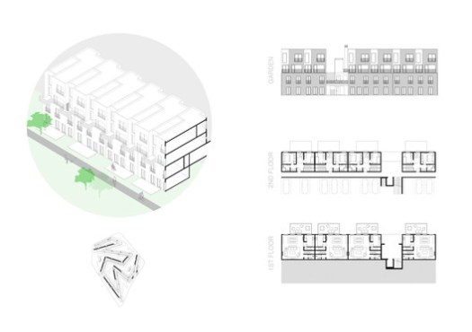 Isometric Section - Floor Plan