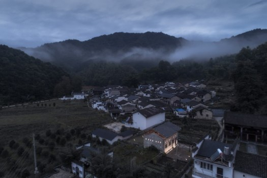 Aerial view from southeast side. Image © Xuguo Tang