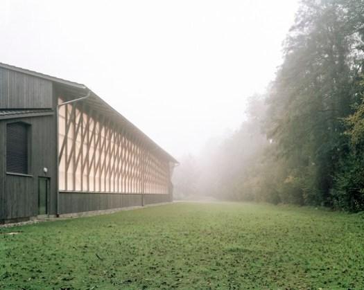 SHORTLISTED: Ball Sports Hall Haiming / ARGE Ingenieurbüro Harald Fuchshuber / Almannai Fischer Architekten. Image © Sebastian Schels / PK Odessa