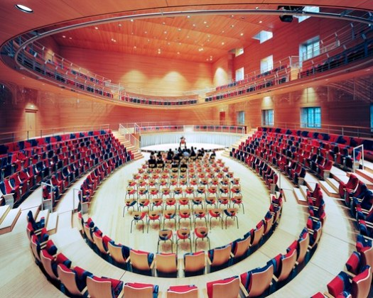 SHORTISTED: Pierre Boulez Hall at the Barenboim-Said Academy, Berlin / Gehry Partners / Rw+ / Hg Merz. Image © Volker Kreidler