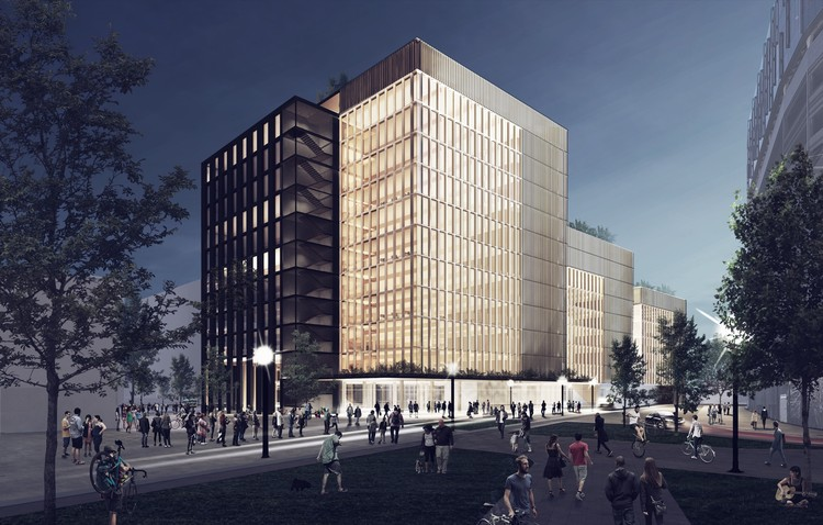 Newark albergar el edificio corporativo en madera ms