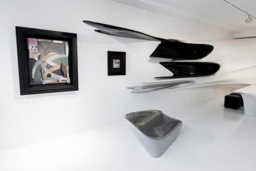 Kurt Schwitters: Merz / Zaha Hadid Architects. Image Courtesy of Galerie Gmurzynska