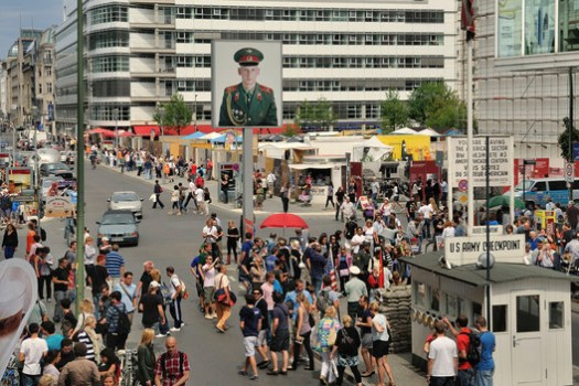 Checkpoint Charlie, photo: Friedhelm Denkeler